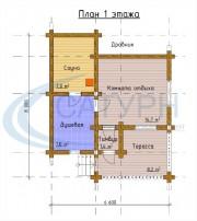 Проект Северная - План 1 этажа